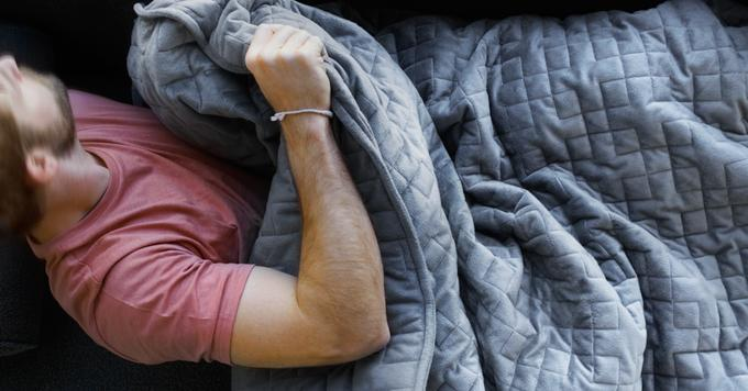 Weighted Blanket That Could Help Aid Anxiety For