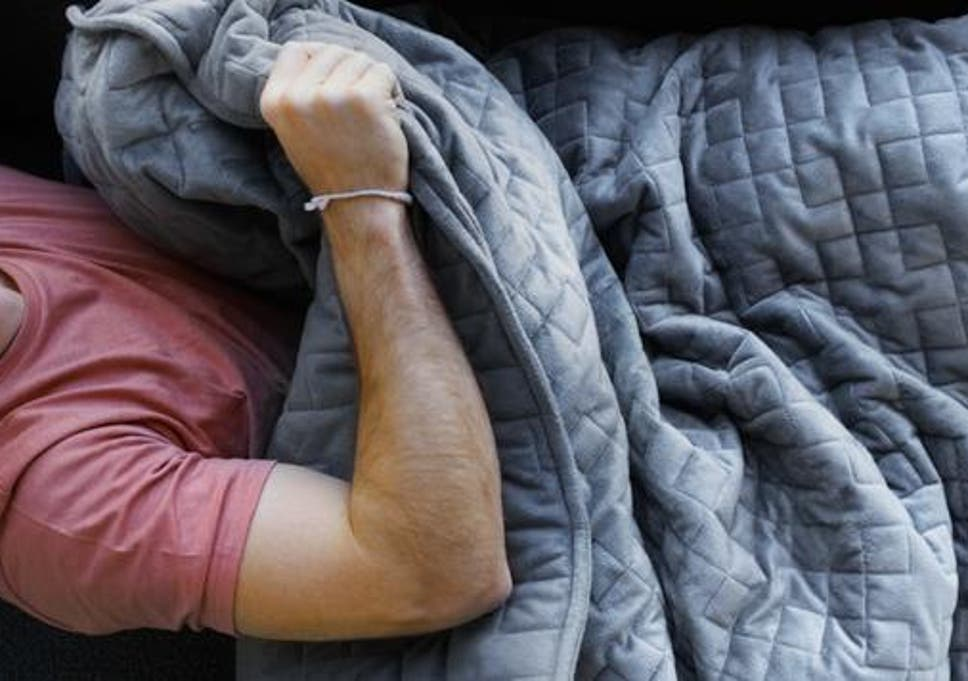 Weighted blanket that could help aid anxiety for sleepers launched weighted blanket that could help aid anxiety for sleepers launched fandeluxe Images