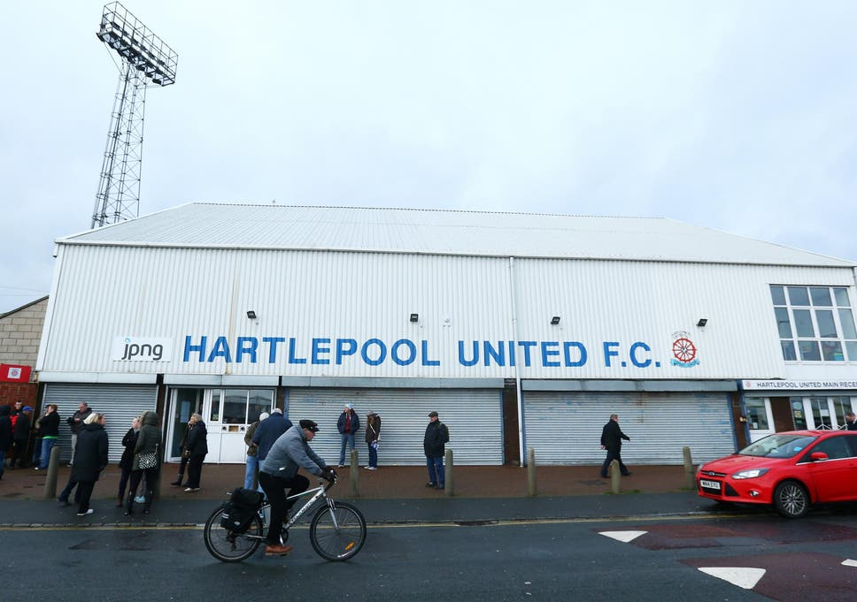 Hartlepool Nervously Face Up To Dropping Out Of The Football League