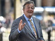 Stephen Fry faces blasphemy probe after saying God is 'utter maniac'