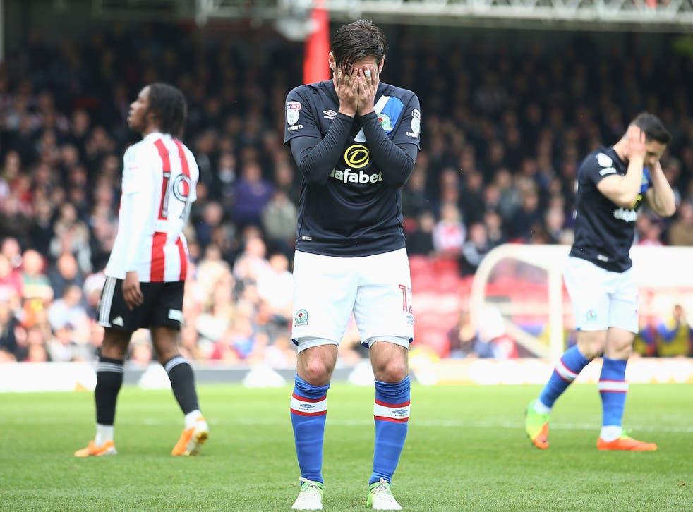 Results elsewhere began to go against Blackburn