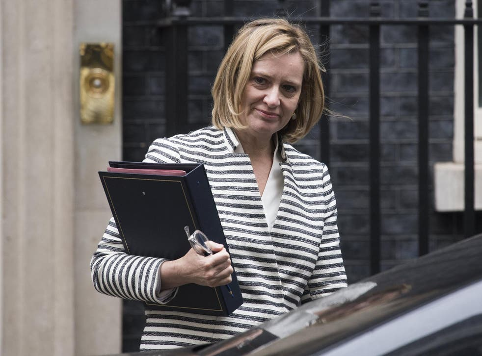 The Home Secretary said the situation had changed because of the decision to leave the EU