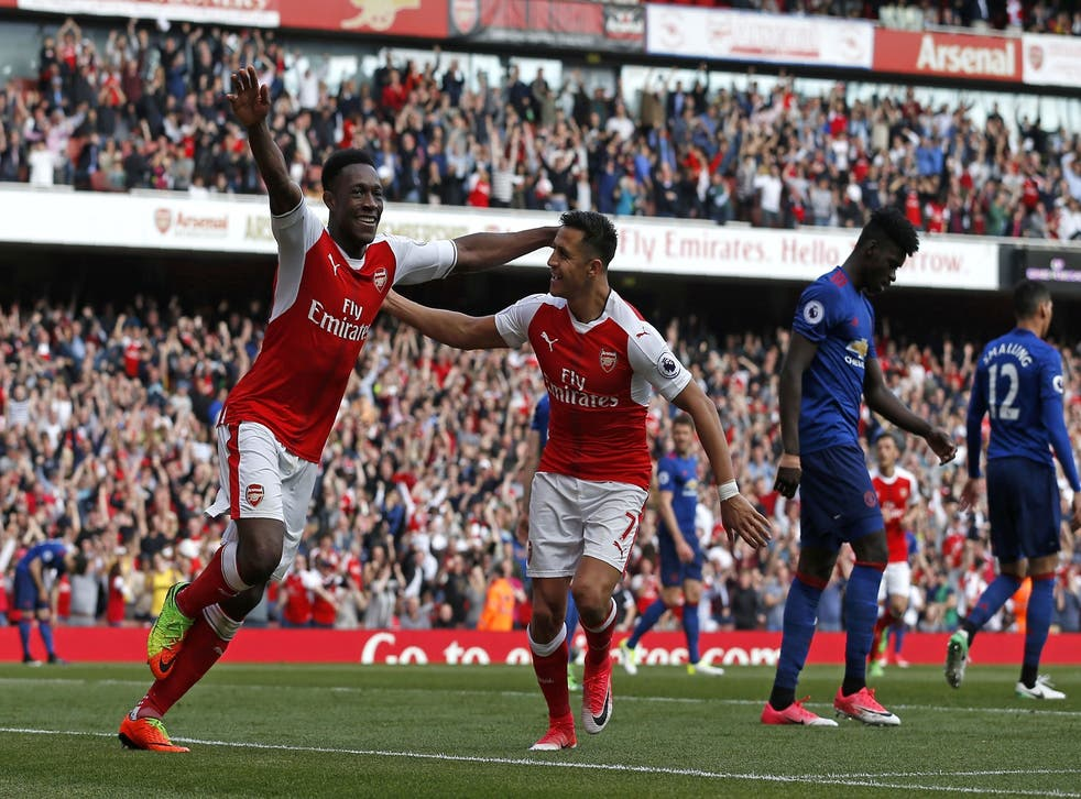 Danny Welbeck scored his third goal in four games against his former side Manchester United