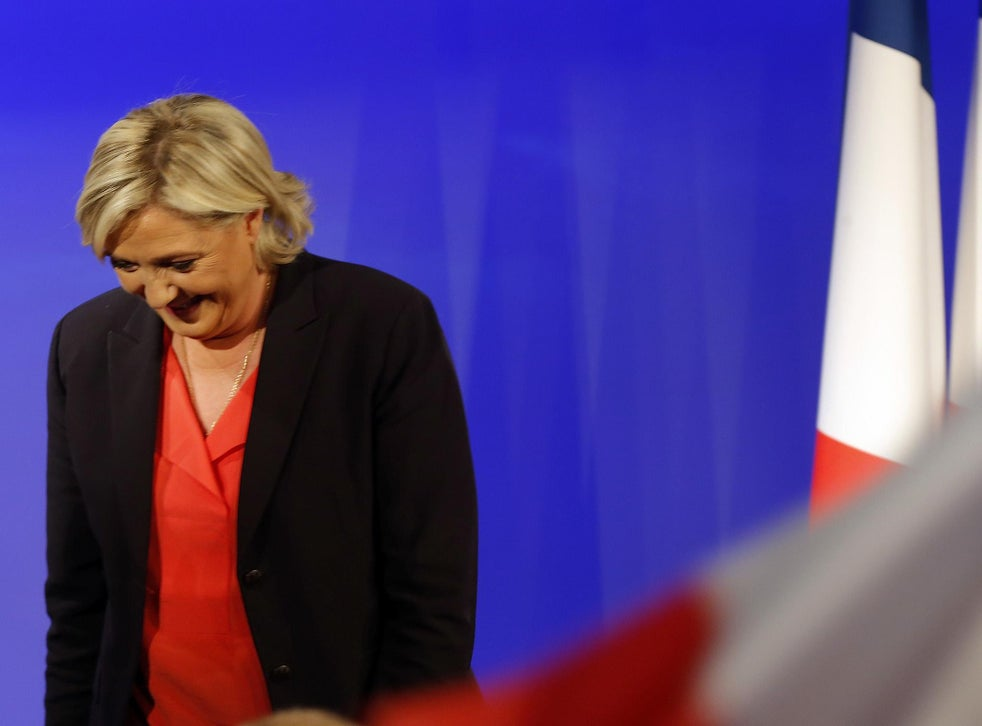 French Election Le Pen Claims Historic Massive Result For French Far Right Despite Projected Defeat The Independent The Independent