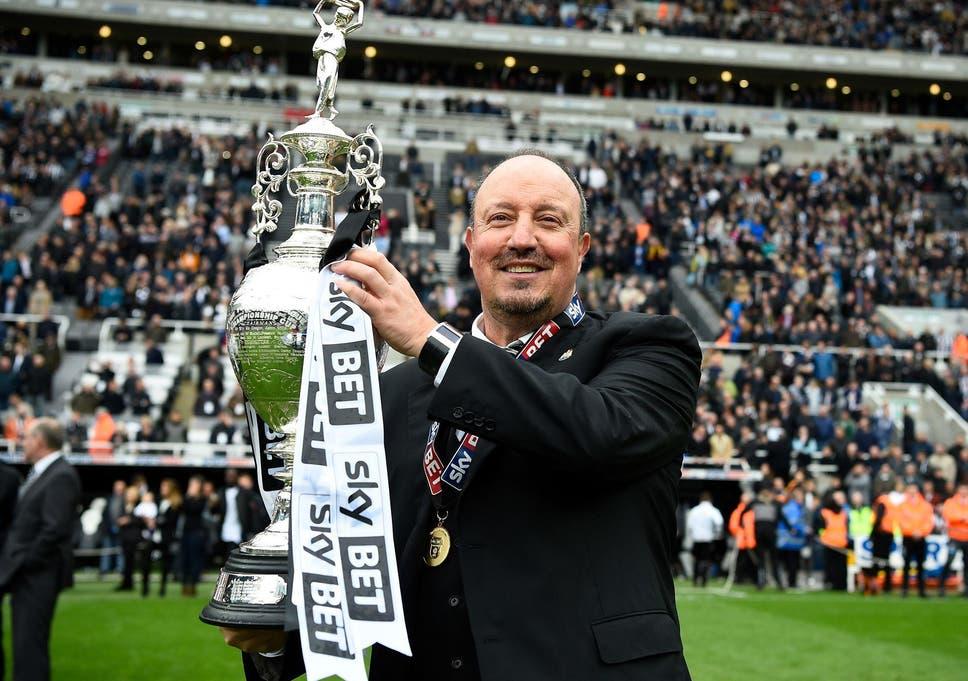 Image result for Rafa Benitez wins Championship
