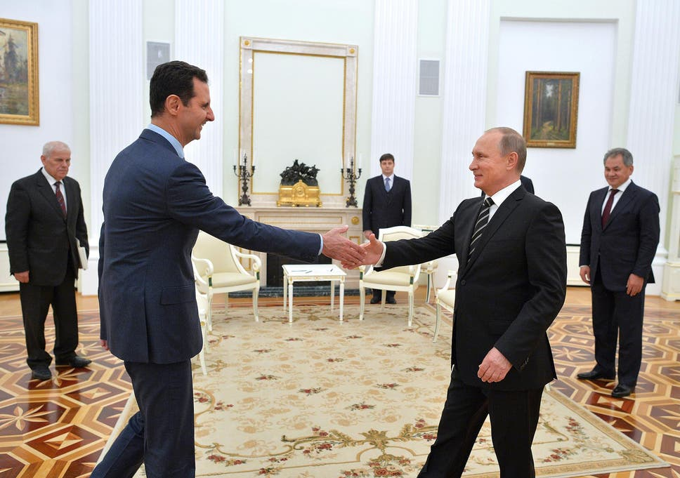 Red Line Redux How Putin Tore Up Obama's 2013 Syria Deal