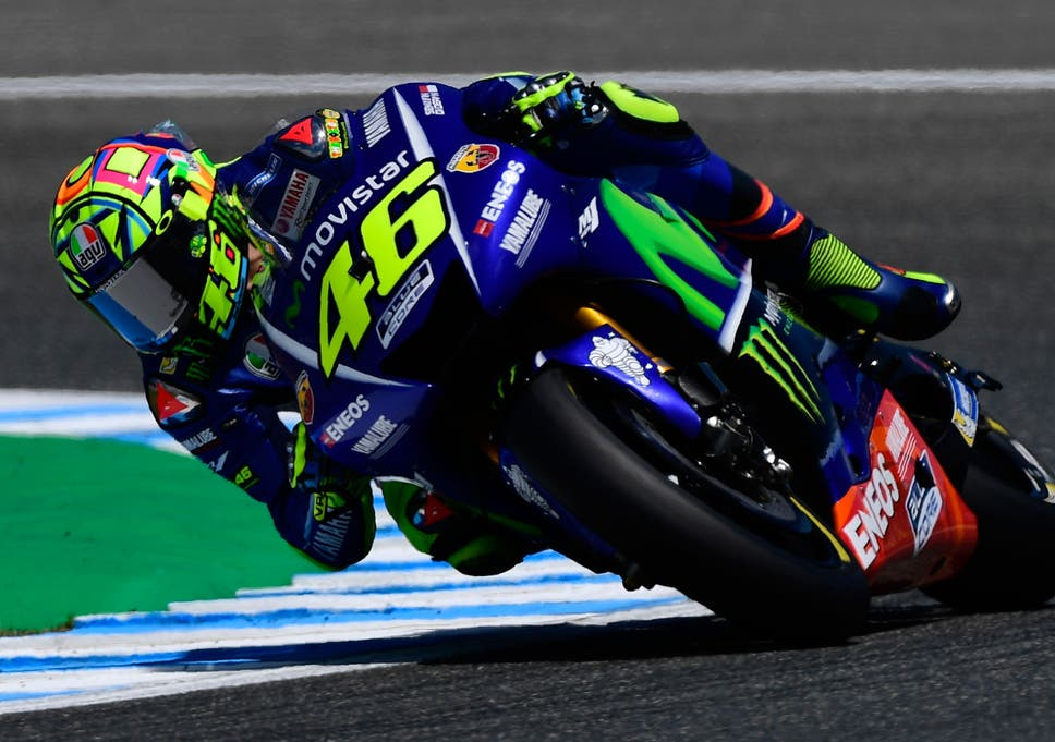 e0da27caa3dc6 MotoGP  Valentino Rossi  lucky  to see chequered flag in Jerez after  salvaging championship lead