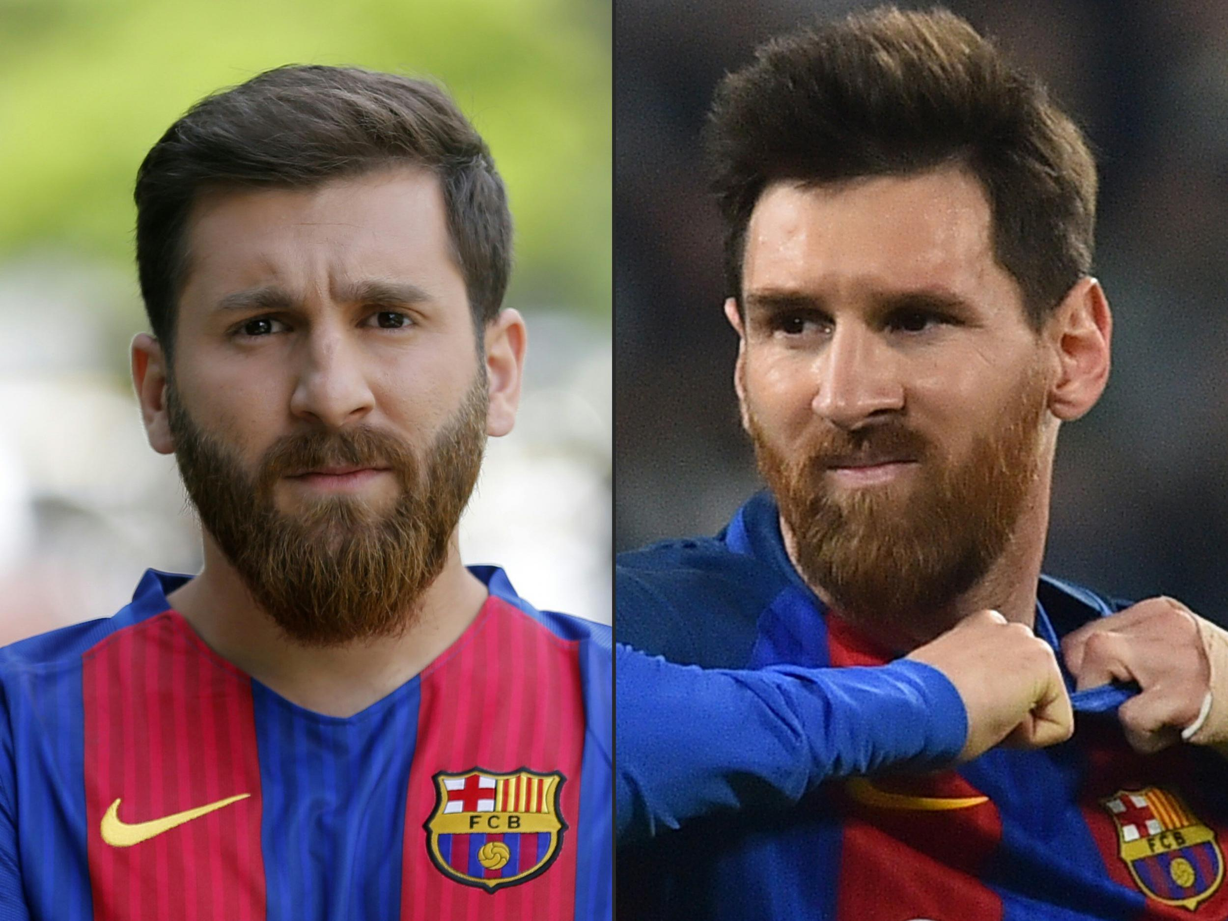 Google themes messi - Lionel Messi Lookalike Almost Ends Up In Iranian Prison