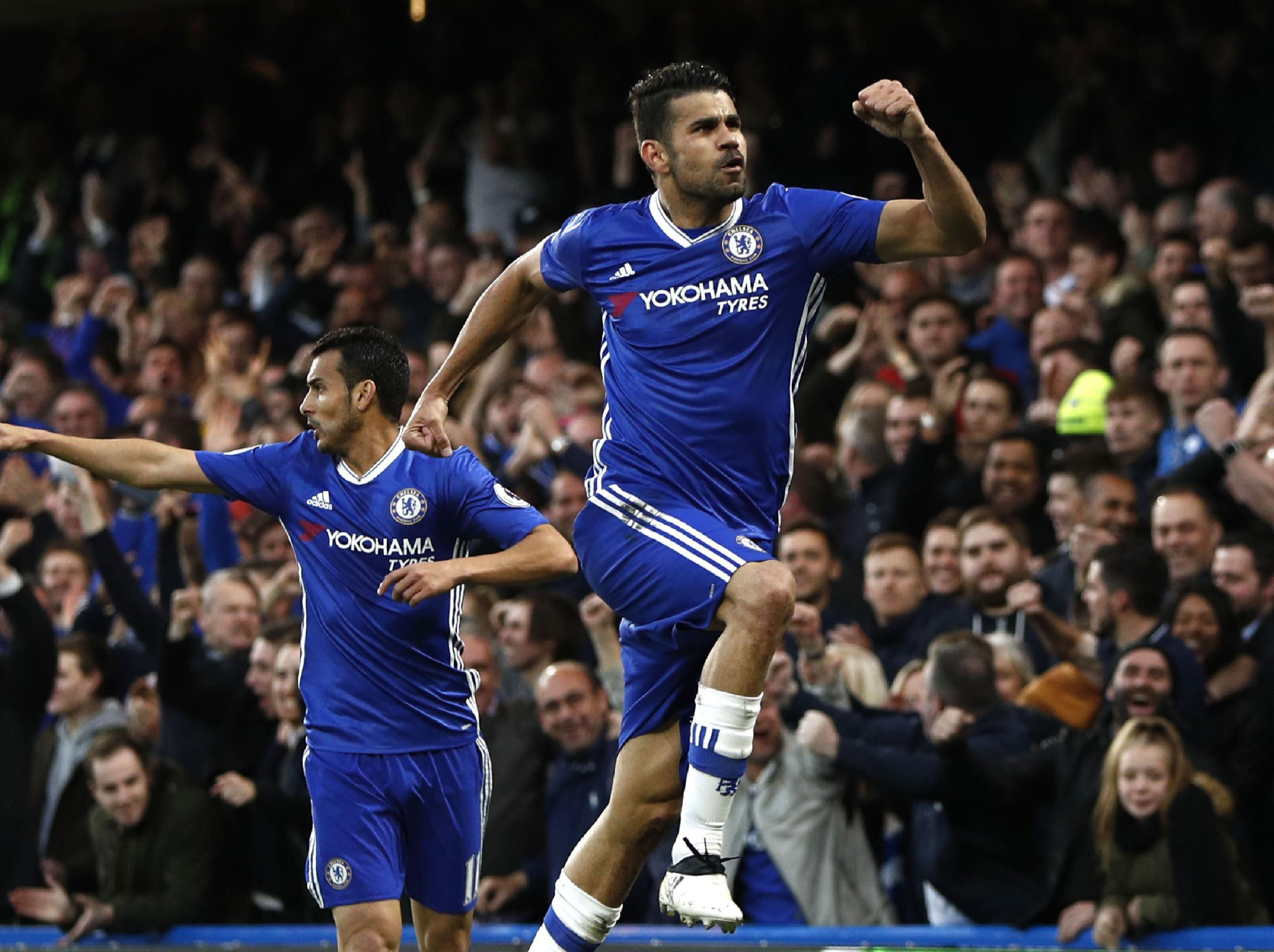 Chelsea relegate Middlesbrough with a win of purring confidence to put Blues on the brink of the Premier League title