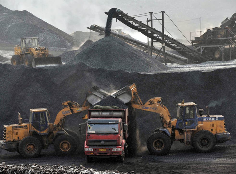 Haizhou mine, Liaoning province. Only Russia and the US have greater coal reserves than China