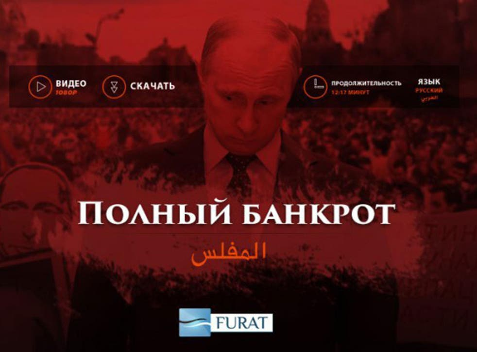Isis released a propaganda video showing the beheading of a man named as Evgeny Petrenko, a Russian intelligence officer