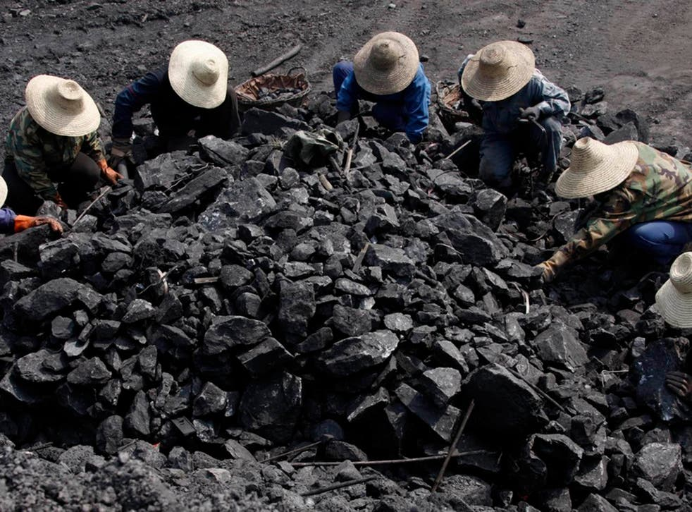 China presently consumes around a quarter of the world's total primary energy and more than half its coal
