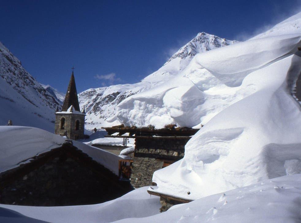 Bonneval-sur-Arc in winter