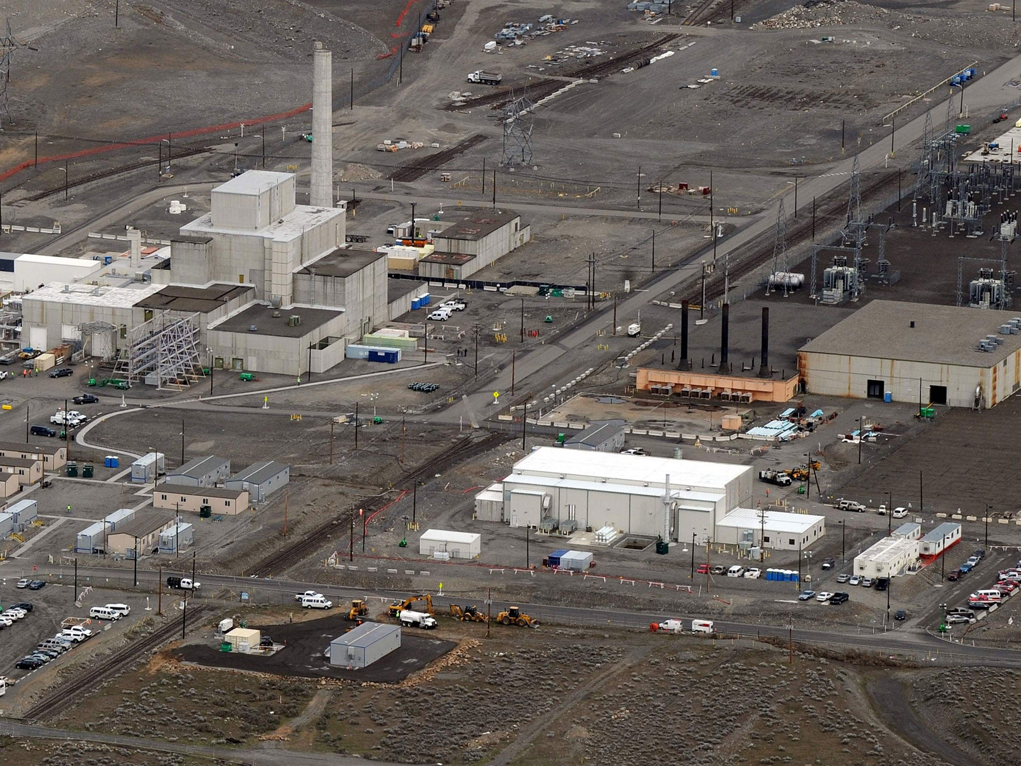 Image result for Hanford nuclear emergency: Workers take cover at 'most toxic place in America' after tunnel collapse