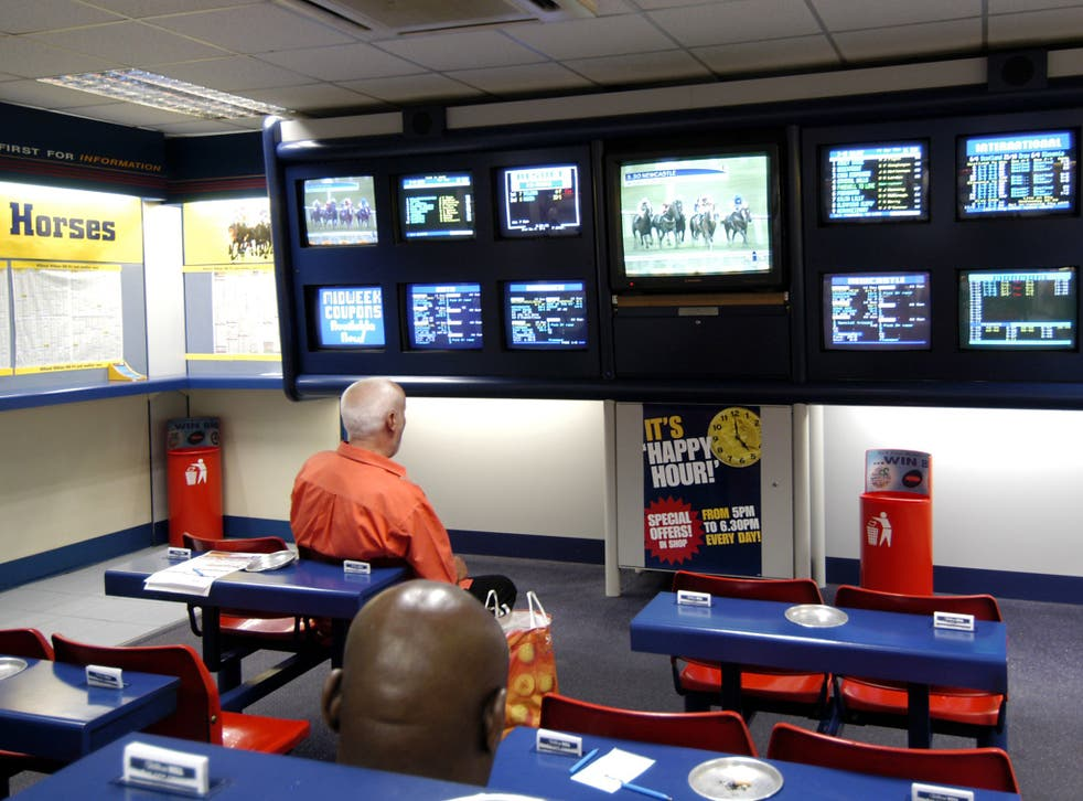 All out: the bookmaker's efforts to reach beyond its shops include the launch of an app