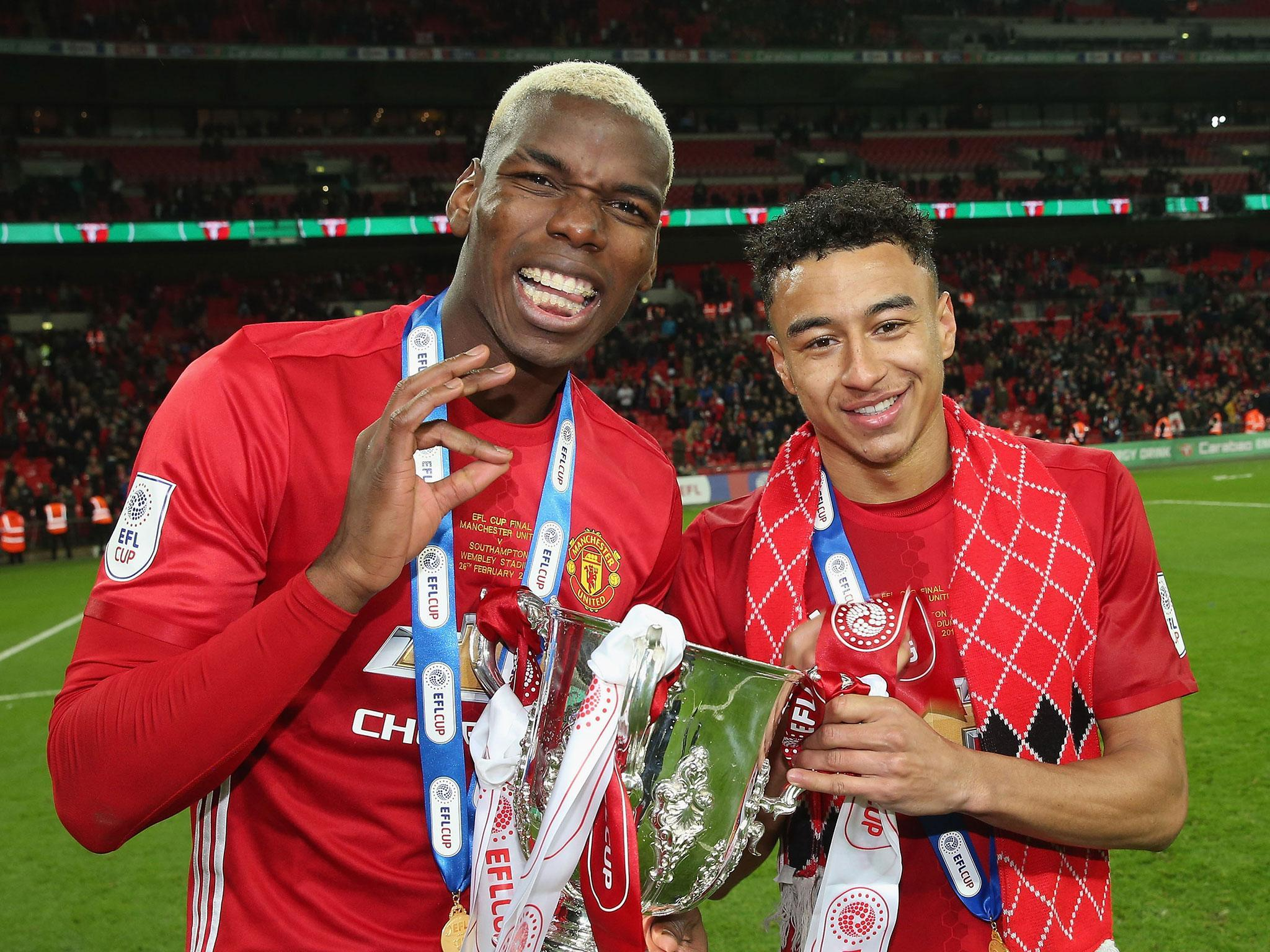 Jesse Lingard Expecting More From Paul Pogba At Manchester