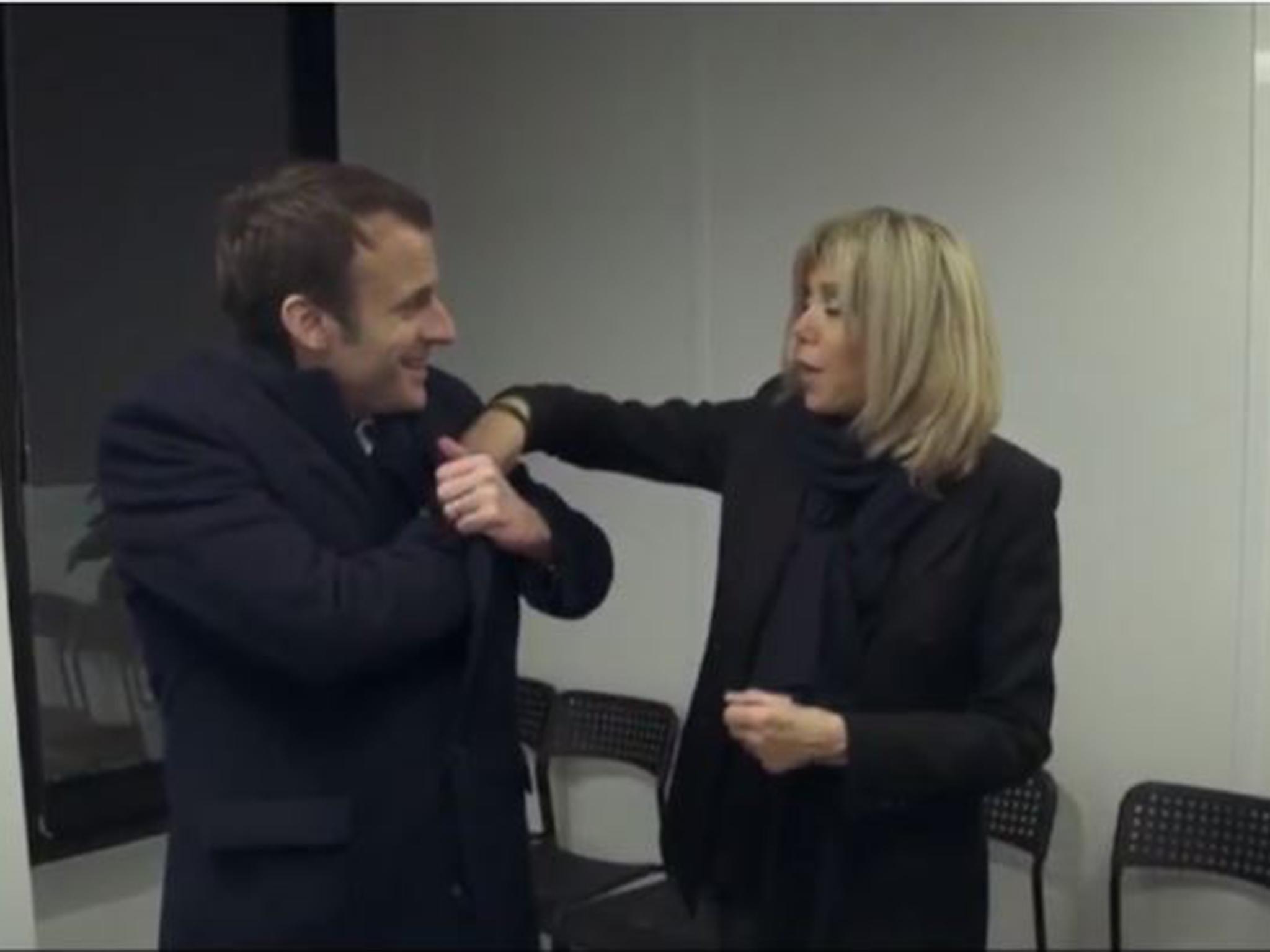 French election: Emmanuel Macron's wife Brigitte kept him ...