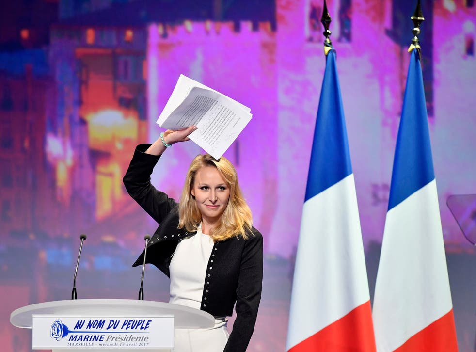 Marion Marechal Le Pen said she would not seek reelection in the June local election citing personal and political reasons