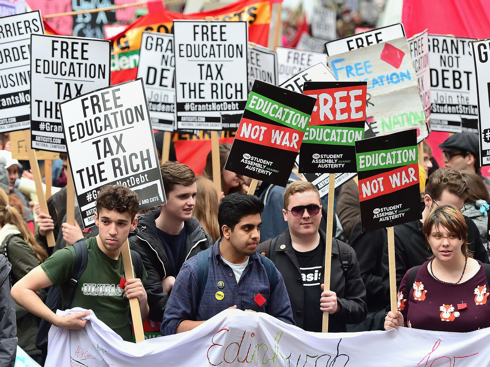 Theresa may under pressure to cut cost of university as public rejects high fees and huge debts the independent