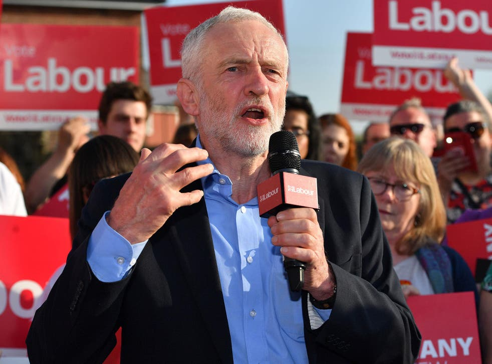 Leaked draft of Labour's election manifesto shows party will pledge to renationalise railways and Royal Mail, spend an extra £6bn-a-year on NHS and abolish university tuition fees