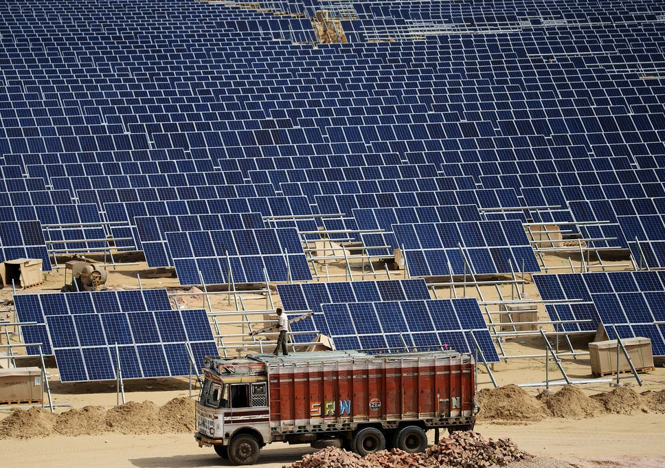 Solar energy prices in India tumbles to new record low