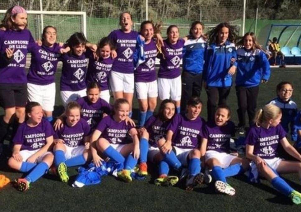 Girls' football team ridiculed for entering boys' league