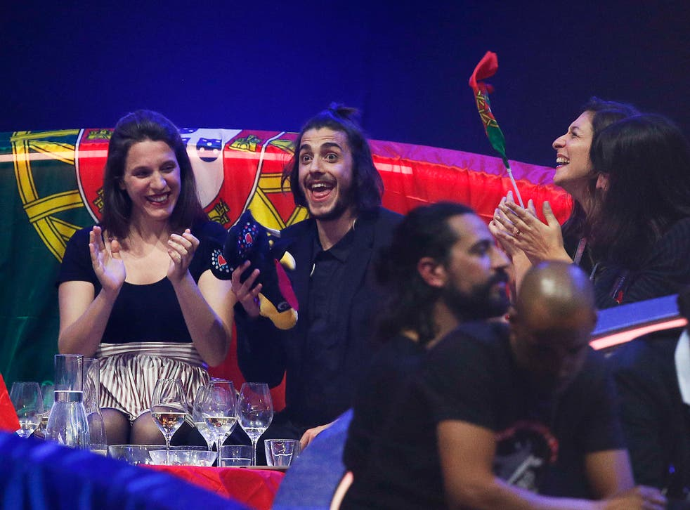 "pSalvador Sobral won for Portugal in 2017 with the song ""Amar Pelos Dois""/p"