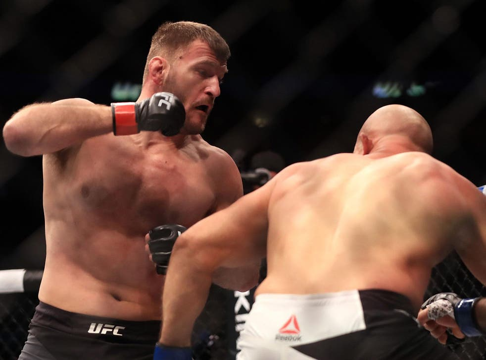 Stipe Miocic exploded out the blocks to put Junior dos Santos away in one