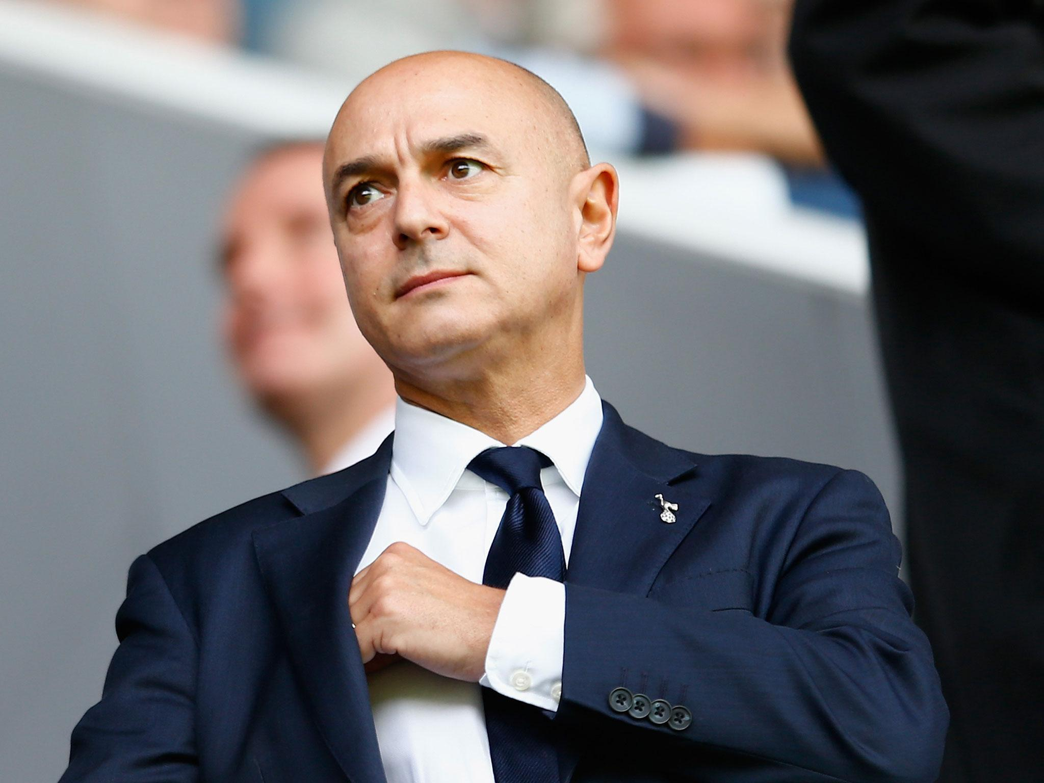 Tottenham Manager Mauricio Pochettino Defends Daniel Levy 39 S Pay Packet The Independent