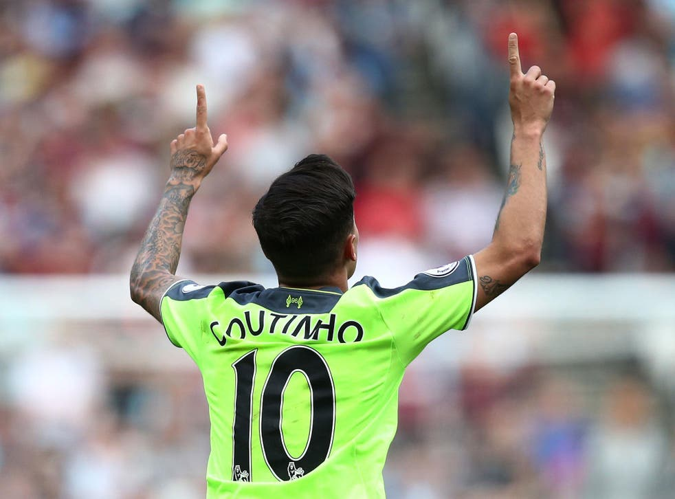 Philippe Coutinho was outstanding as Liverpool took a big step towards the Champions League