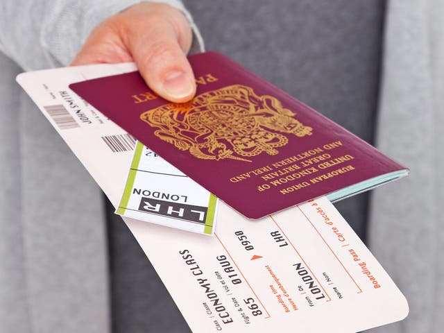 Don't panic if the name on your ticket differs to that in your passport