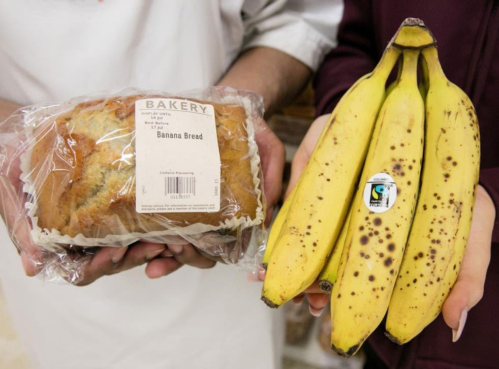 Figures show that UK households bin 1.4 million bananas every day