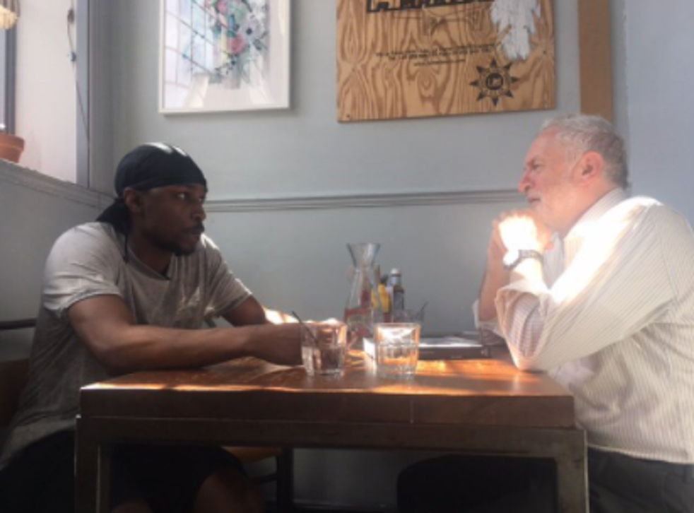 Grime star Jme sits down with the Labour leader to discuss the forthcoming general election