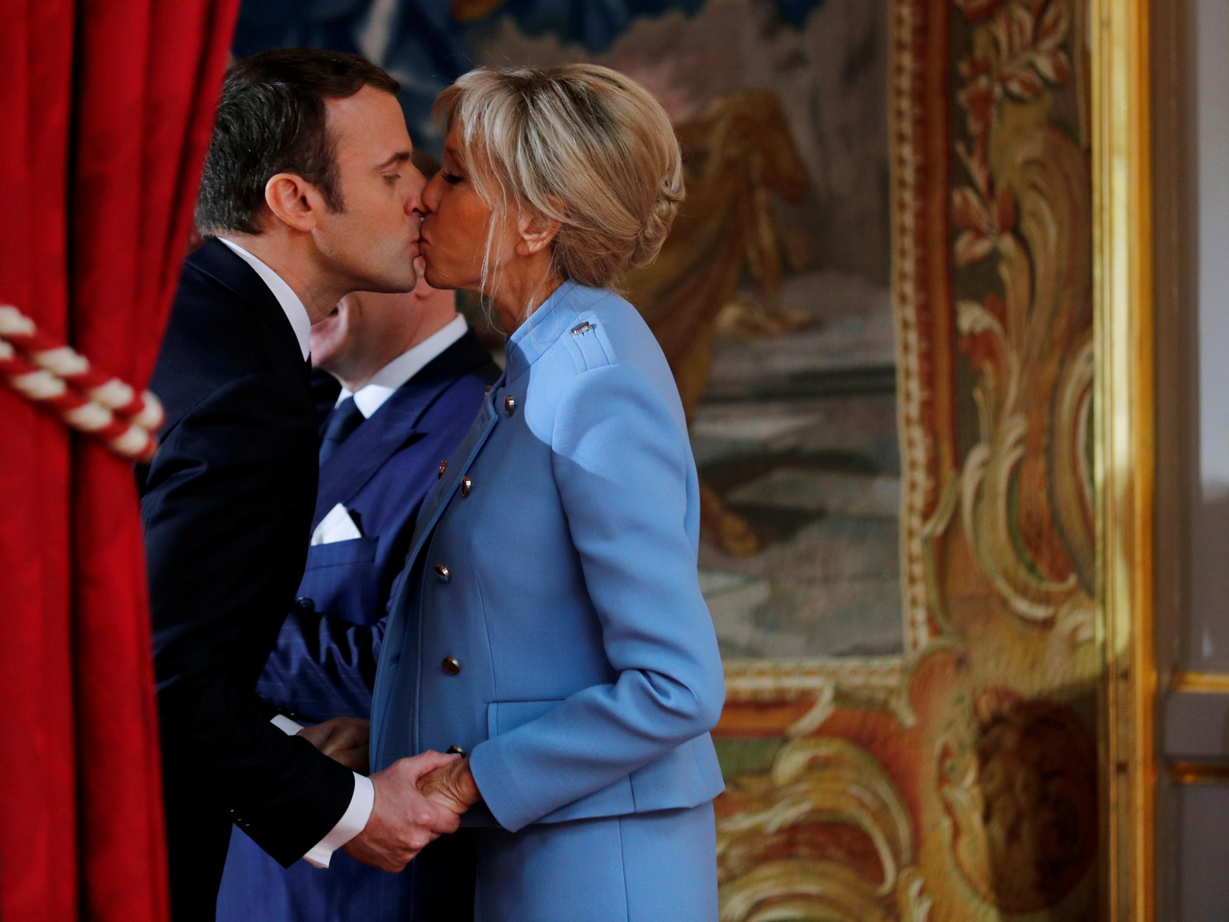 Emmanuel Macron S Unconventional Marriage Reflects The Way France Is Changing The Independent The Independent