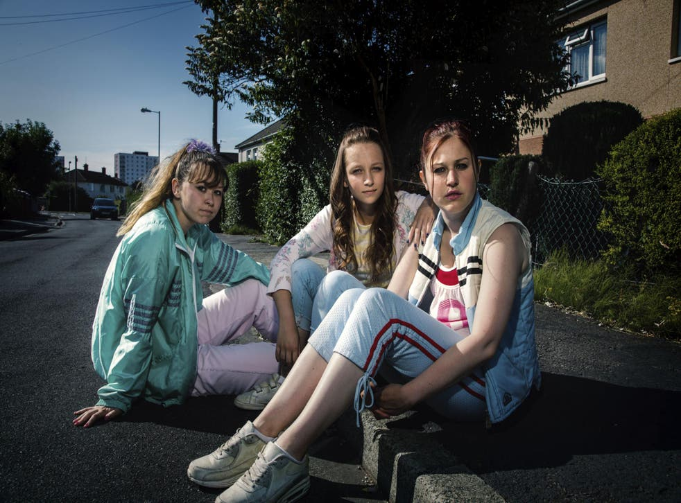 Three girls, three victims: ((from left) Liv Hill, Molly Windsor and Ria Zmitrowicz star in this harrowing dramatisation
