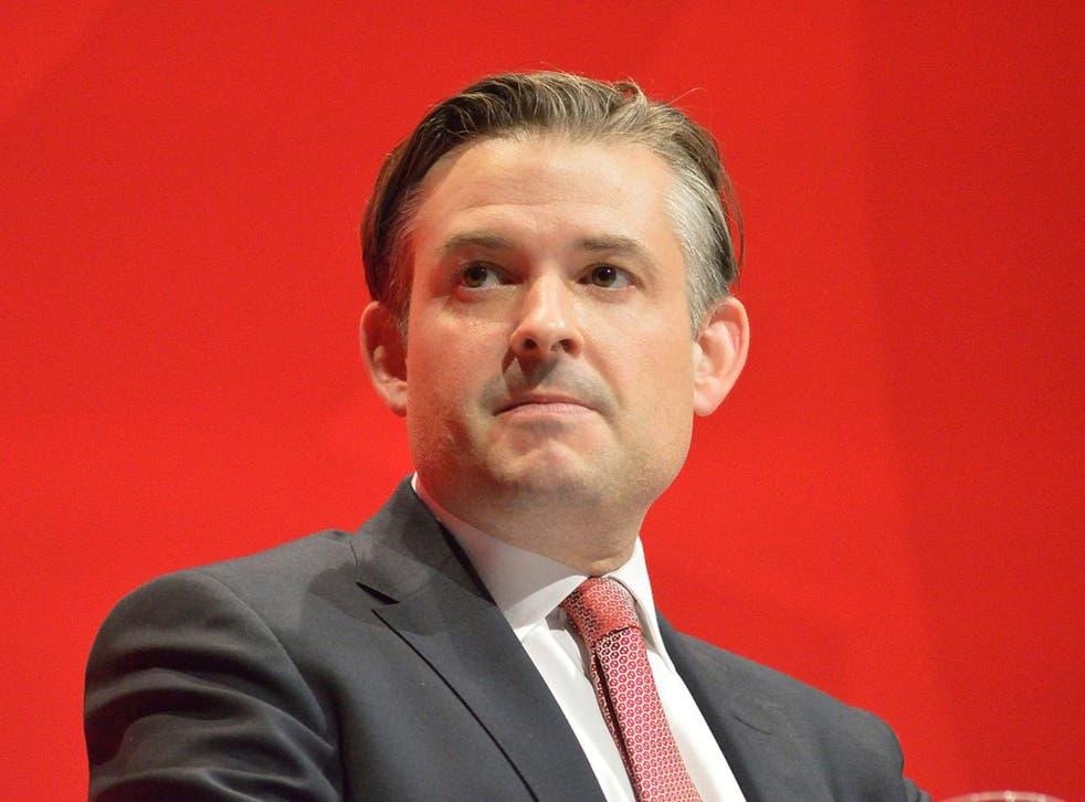 Jonathan Ashworth, the Shadow Health Secretary