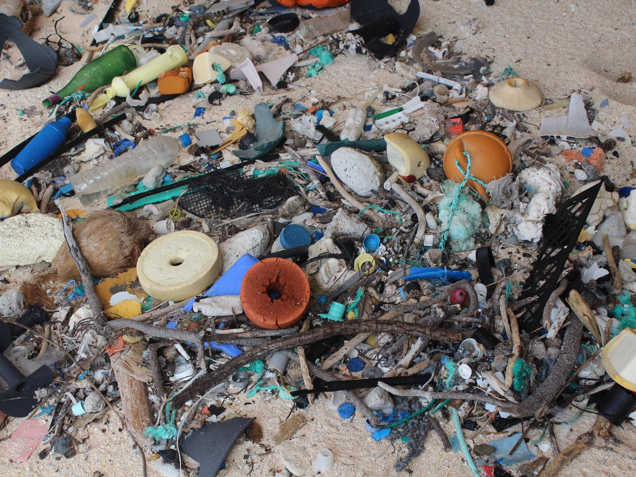 Island in south Pacific 'has world's worst plastic pollution'