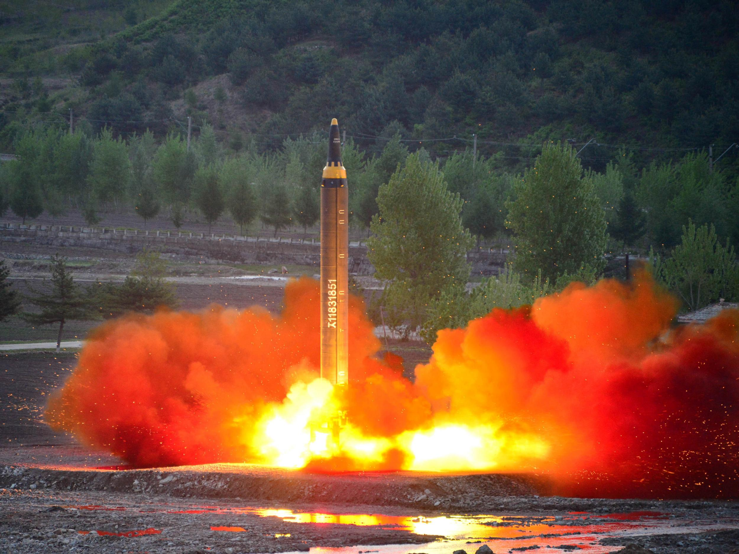 Donald Trump would have '10 minutes to react' if a North Korean nuclear  missile strikes the US mainland | The Independent