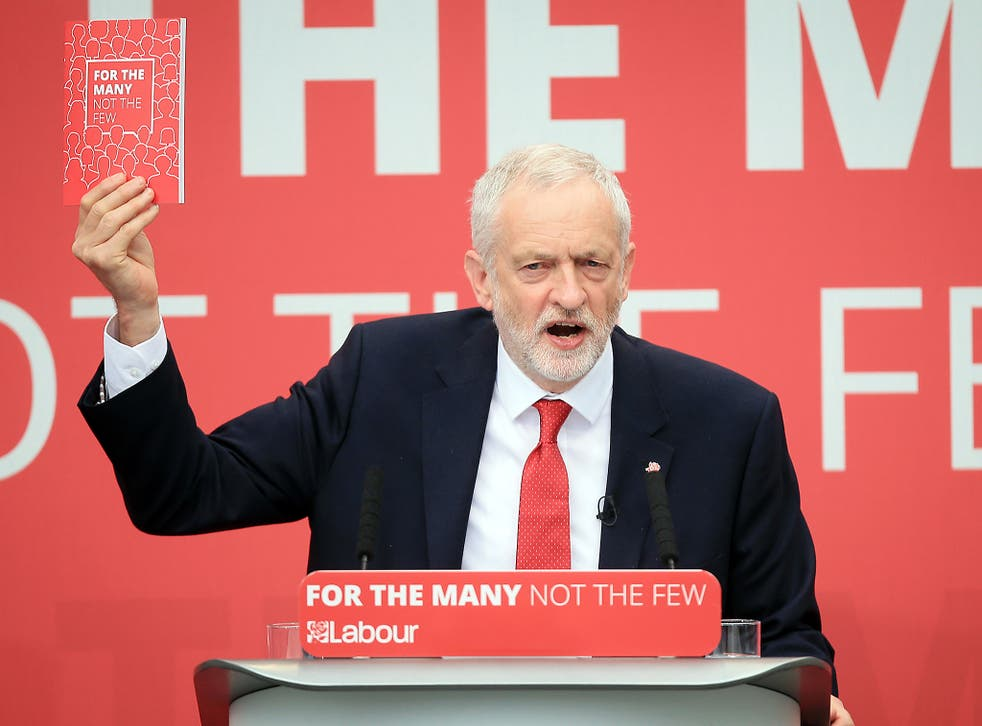 Jeremy Corbyn pledged to 'resign' the two-child limit on tax credits