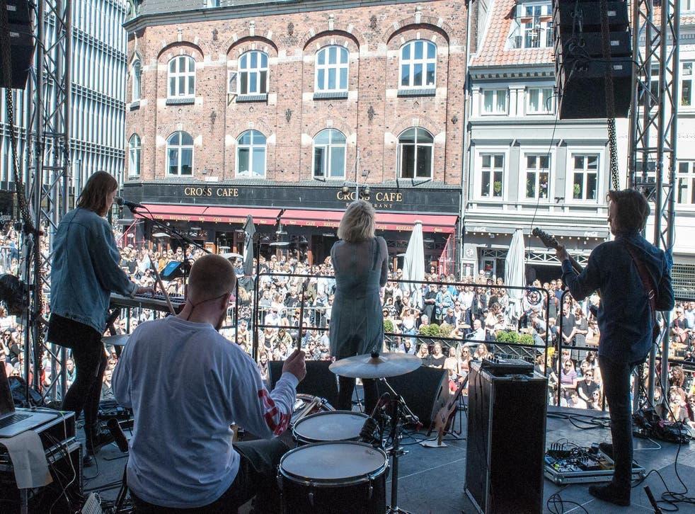 Katinka play at Spot Festival