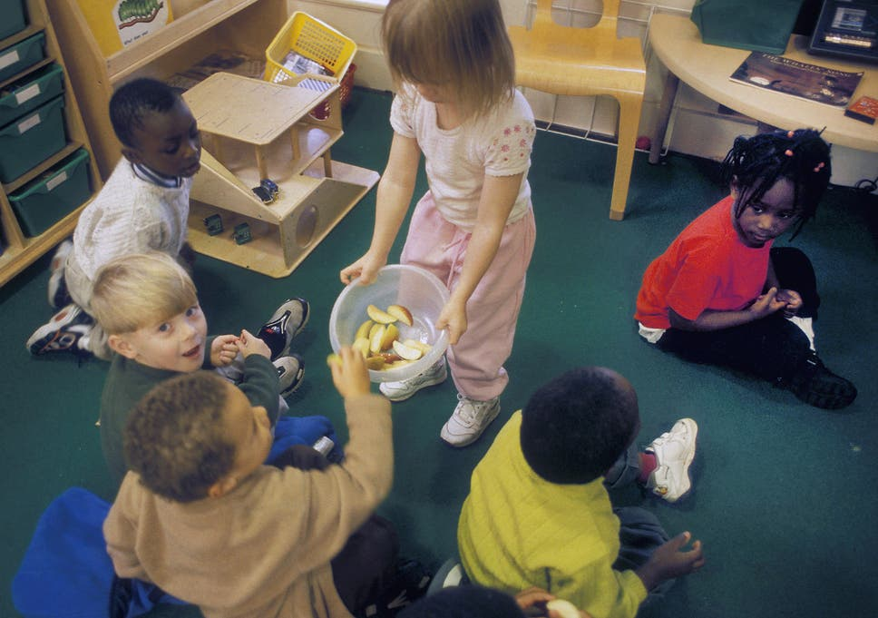 Cost of childcare surges to £122 a week leaving parents