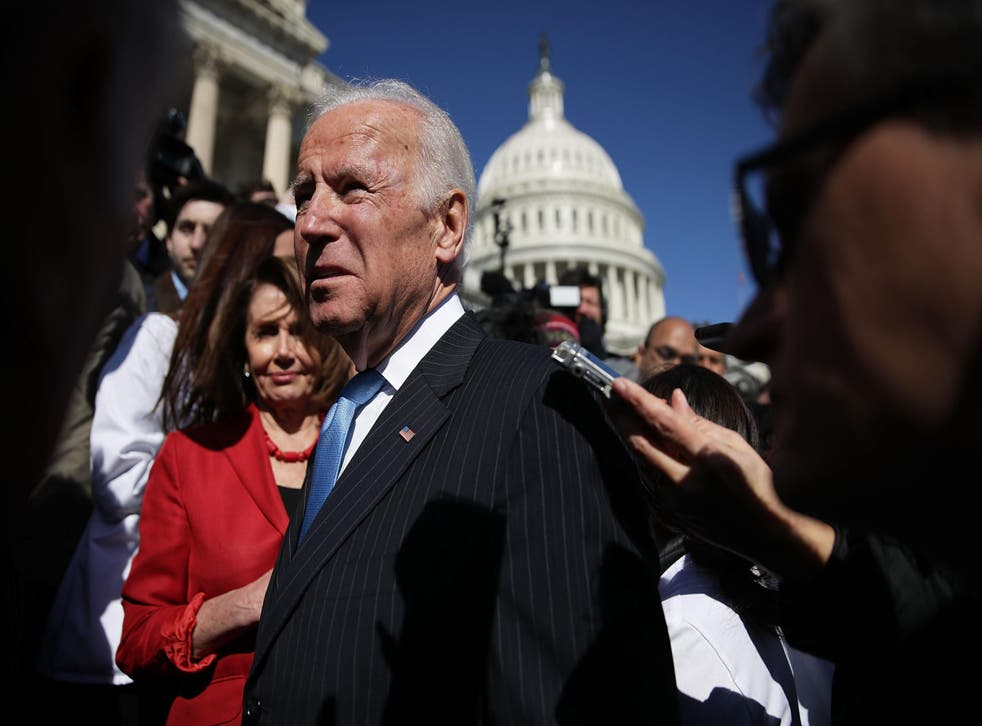 Biden would beat Trump in a hypothetical 2020 matchup, a new poll shows