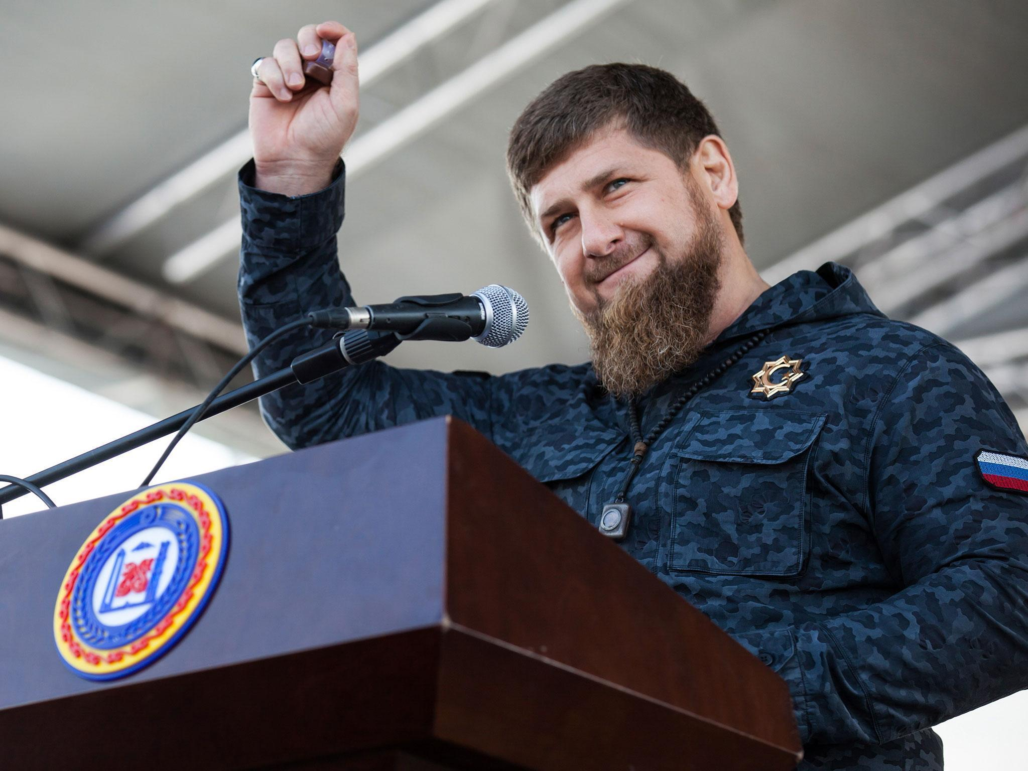Ramzan Kadyrov announced that he would leave his post 02.27.2016 28