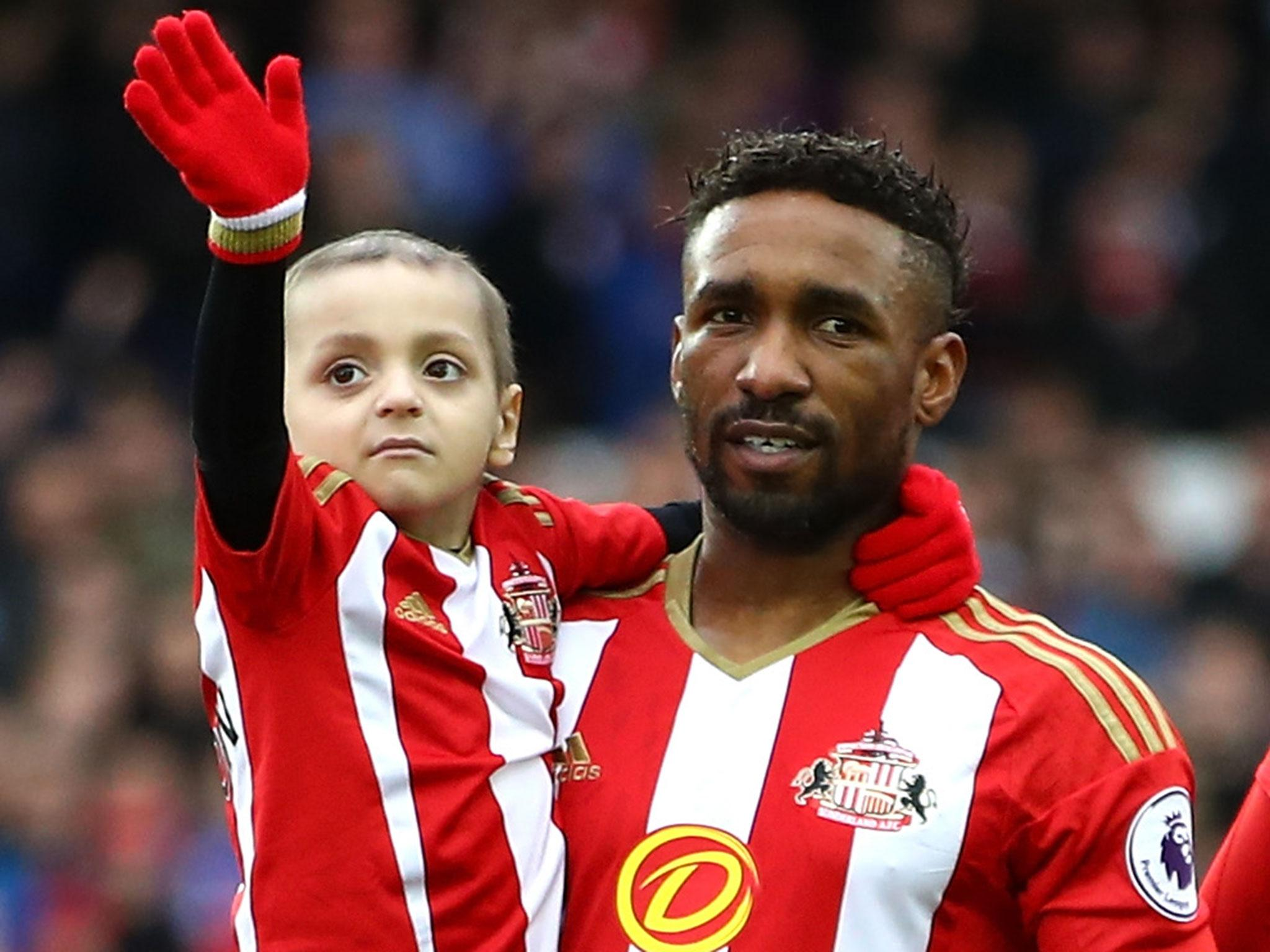 bradley lowery declines chelsea invite to premier league celebration but has massive party planned for his birthday the independent