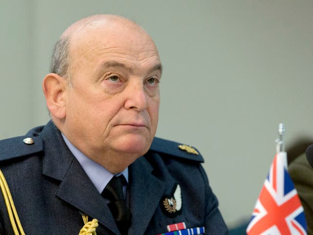 British Chief of Defense Air Chief Marshal Sir Stuart Peach