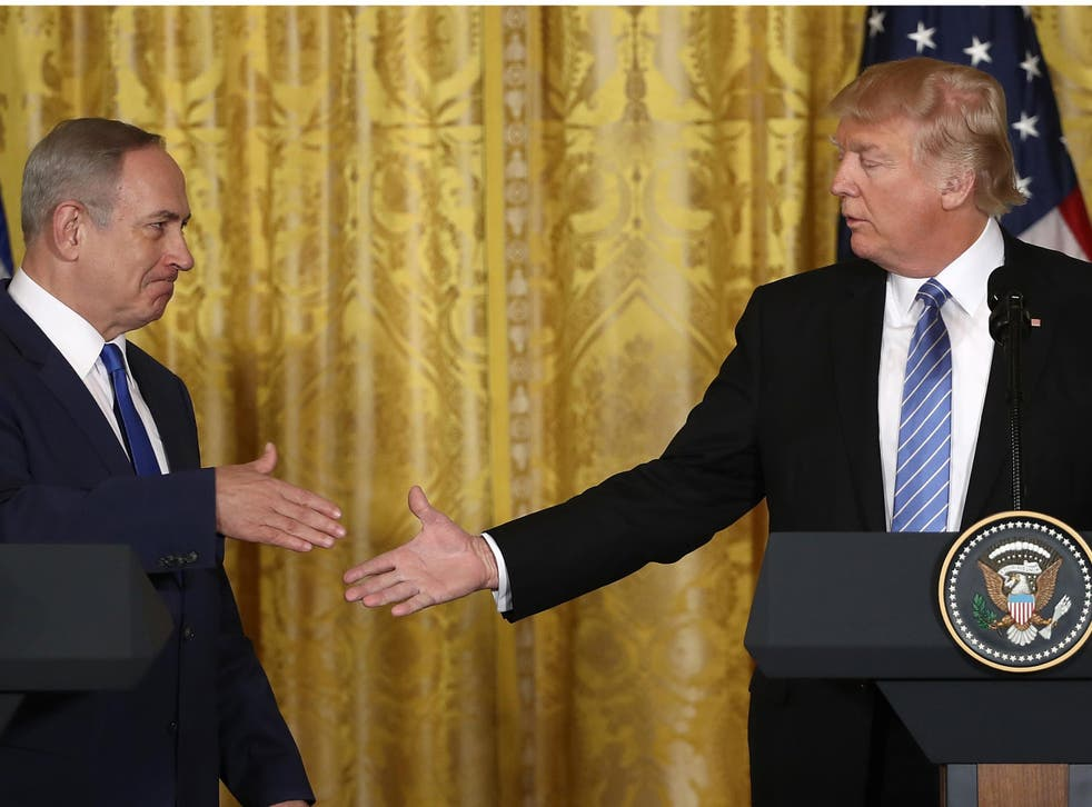 US intelligence agents had reportedly warned Israel's officials against sharing information with Donald Trump's administration in January