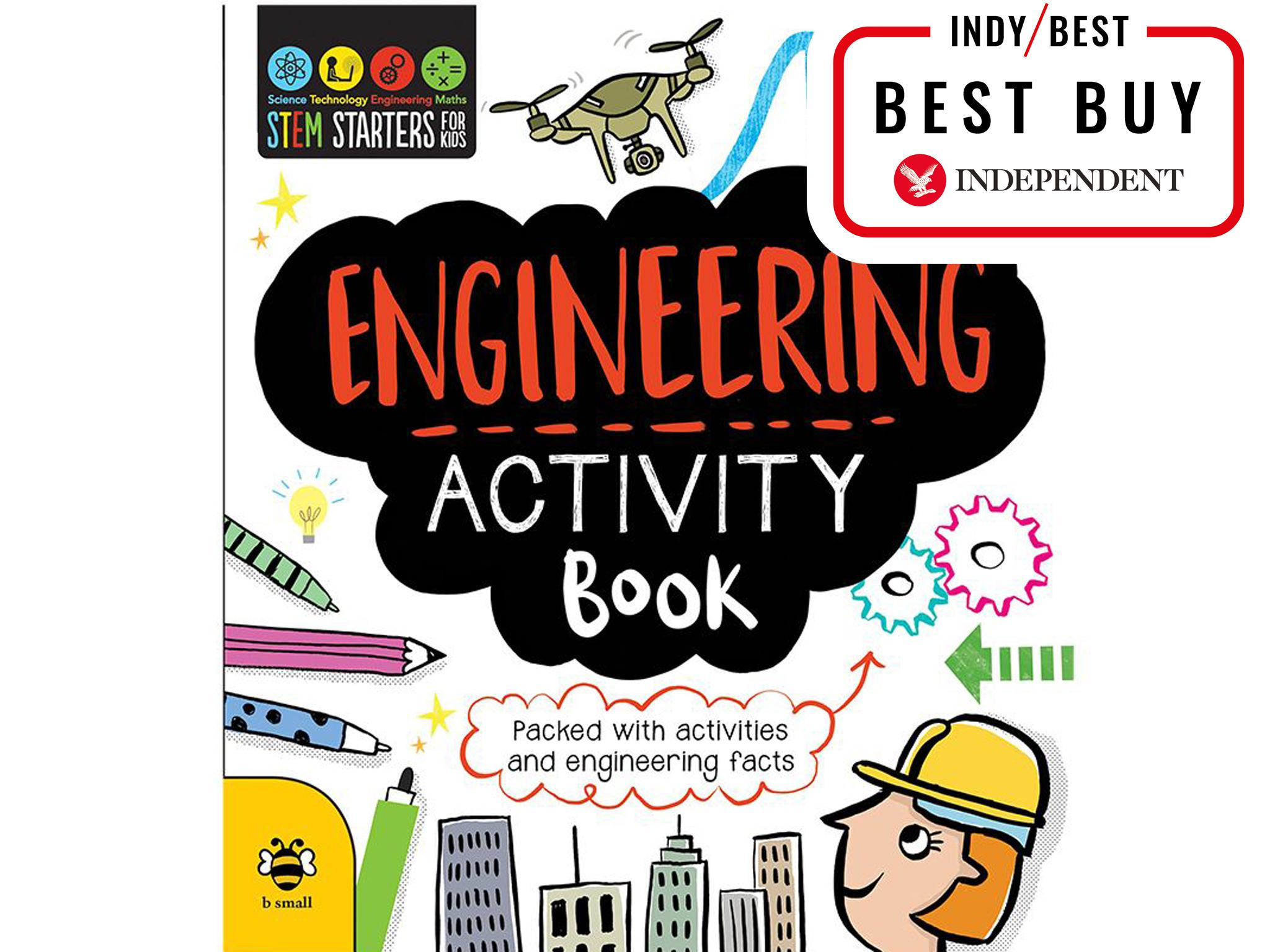 15 best kids activity books the independent engineering activity book 699 stem starters for kids fandeluxe Choice Image