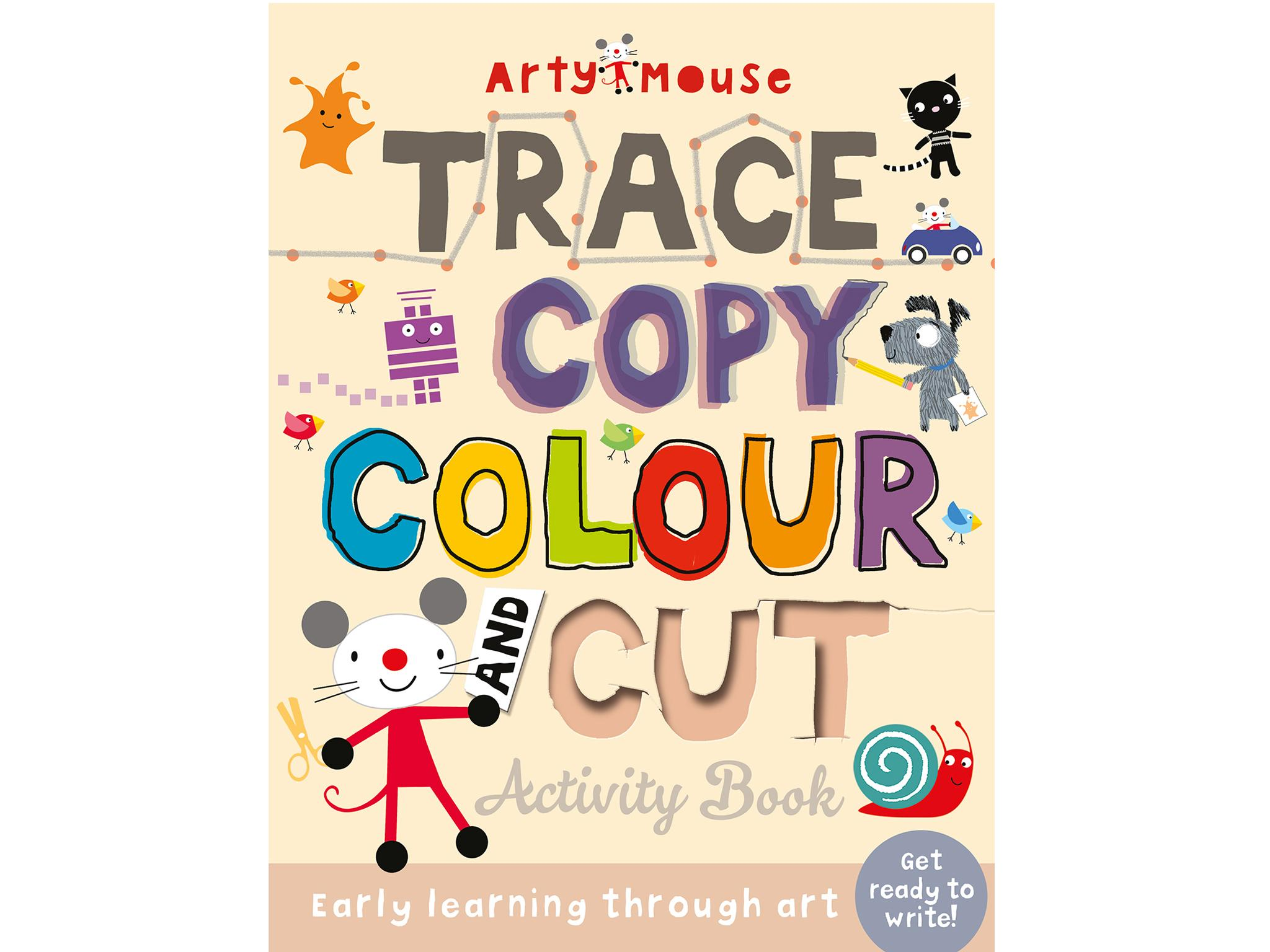 15 Best Kids Activity Books The Independent 10 Awesome Electricity Projects For Project Static Trace Copy Colour Cut 1199 Top That Publishing