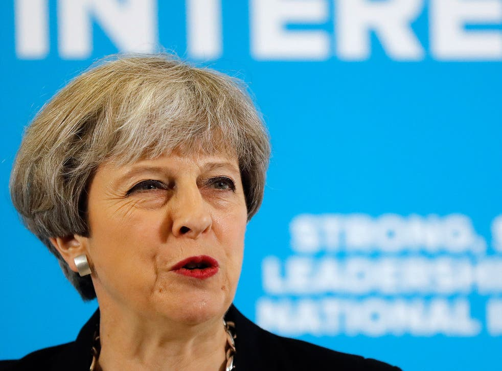 Some Tories say they believe Ms May is sticking to the target to deny Ukip any chance of using immigration to make a comeback