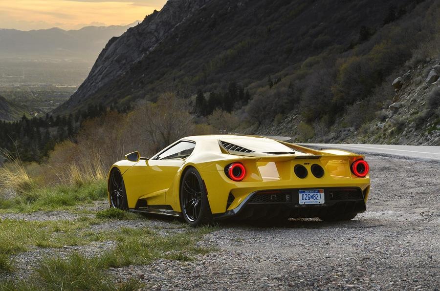 Ford GT Testing The Latest Generation Of Legendary Sports Car